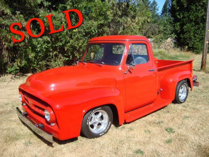 1953 Ford F100 Pickup <font color=red>*SOLD*</font color>