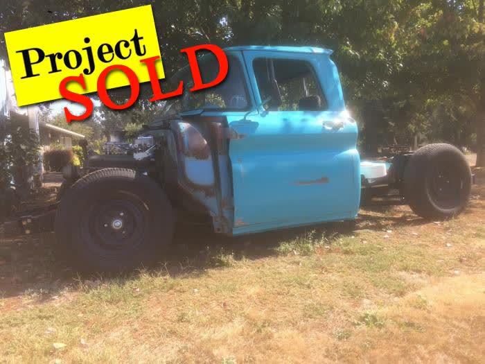 1962 Chevrolet C10 SNB Project <font color=red>*SOLD*</font color>