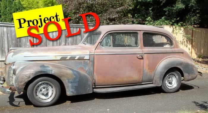 1940 Pontiac 2 Door Sedan <font color=red>*SOLD*</font color>