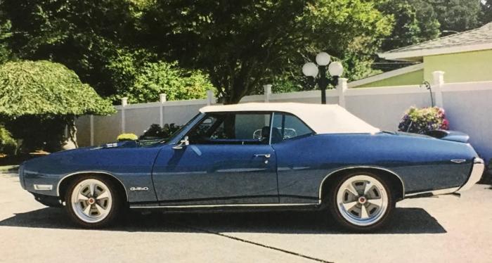 1969 ポンティアック GTO コンパーチブル