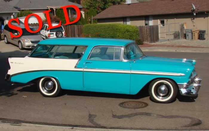 1956 Chevrolet Nomad <font color=red>*SOLD*</font color>