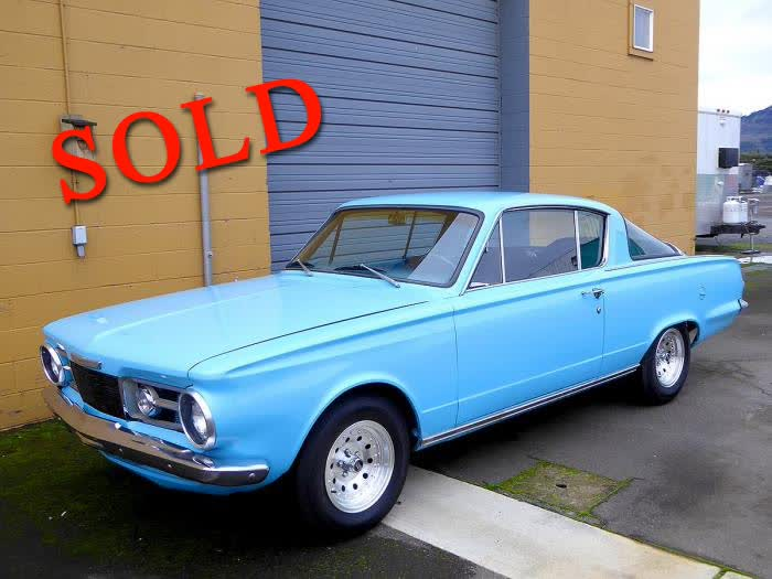 1965 Plymouth Barracuda <font color=red>*SOLD*</font color>