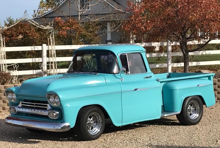 1958 Chevrolet Stepside Big Window Pickup