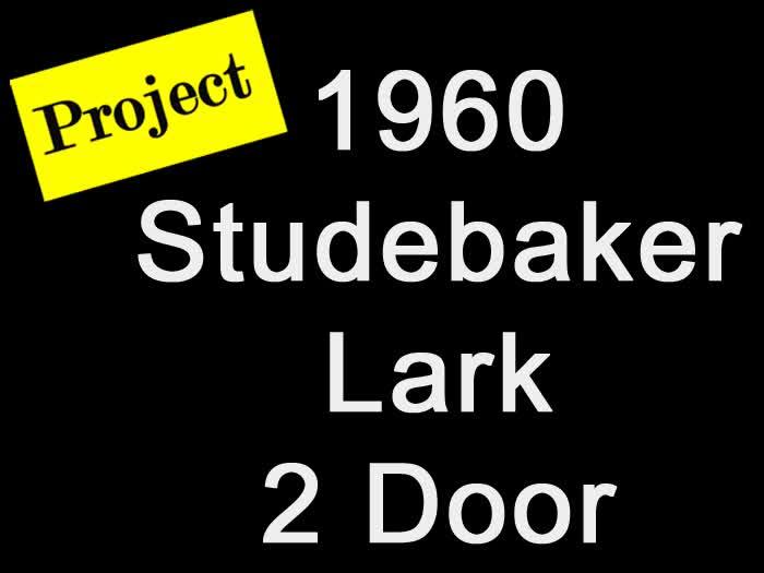 1960 Studebaker Lark 2 Door