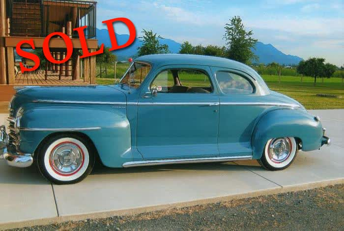 1947 Plymouth Special Deluxe <font color=red>*SOLD*</font color>