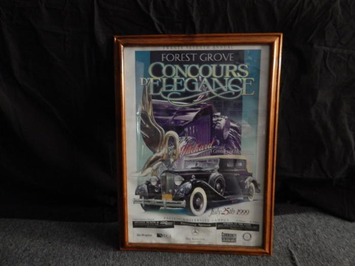 Forest Grove Concours d'Elegance Framed & Matted Posters