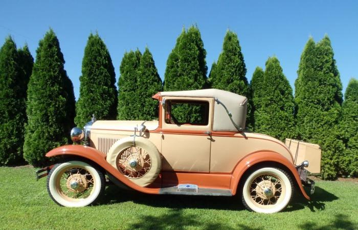 1930 Ford Model A Super Coupe