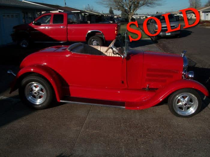 1929 Ford Roadster <font color=red>*SOLD*</font color>