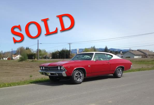 1969 Chevrolet Chevelle SS <font color=red>*SOLD*</font color>