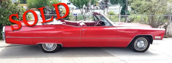 1967 Cadillac De Ville Convertible <font color=red>*SOLD*</font color>