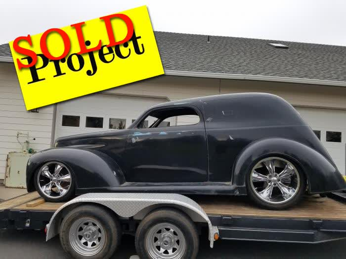 1940 Ford Sedan Delivery Project <font color=red>*SOLD*</font color>