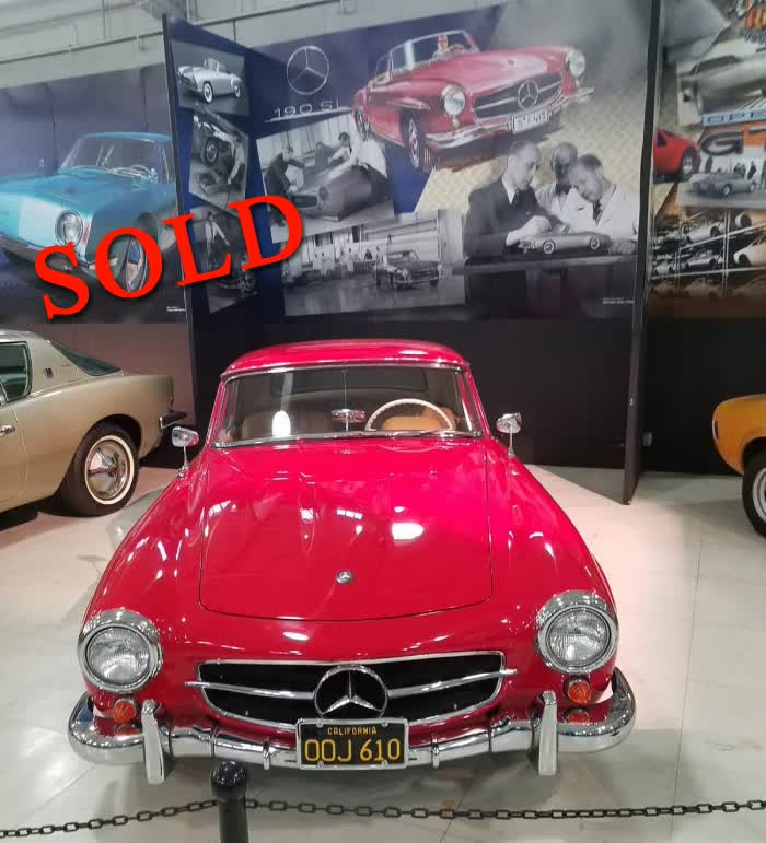 1962 Mercedes-Benz 190SL <font color=red>*SOLD*</font color>
