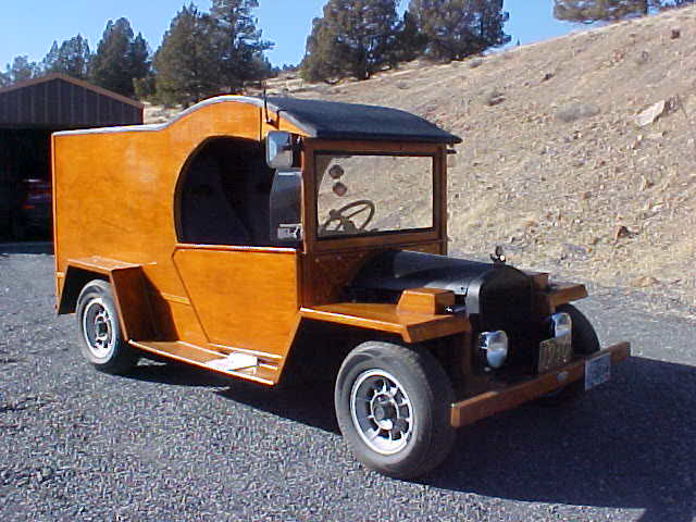 1930 Ford Model A C-Cab Woody