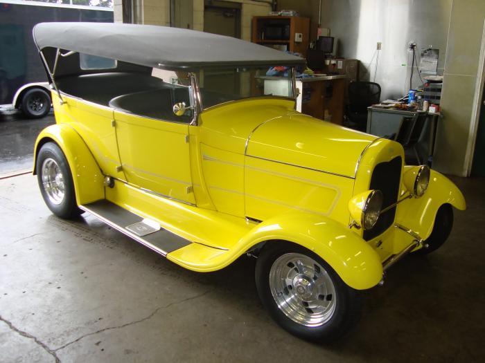 1928 Model A Ford Phaeton Hot Rod
