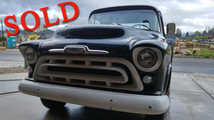 1957 Chevrolet Truck 3600 V8 <font color=red>*SOLD*</font color>