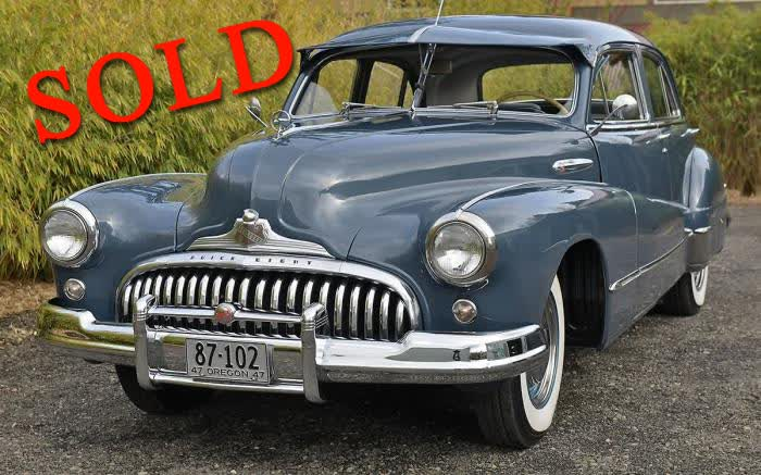 1947 Buick Super <font color=red>*SOLD*</font color>