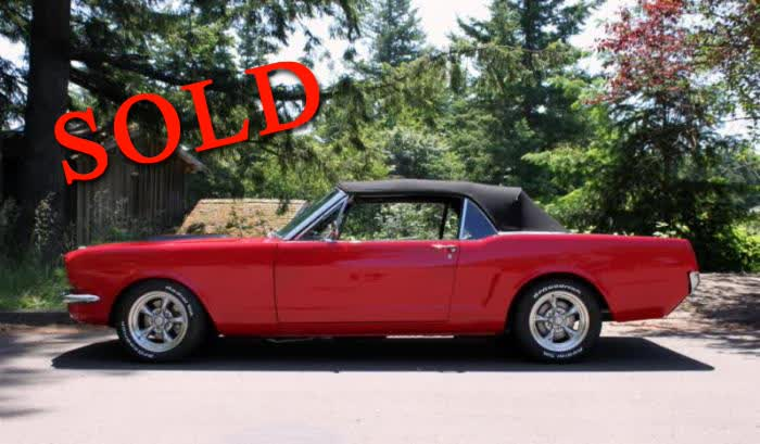 1966 Ford Mustang Convertible Restomod <font color=red>*SOLD*</font color>