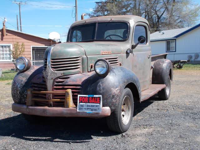 1946 Dodge Pickup Model # WC