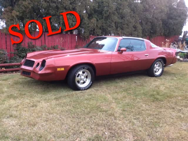 1979 Chevrolet Camaro RS T Top <font color=red>*SOLD*</font color>