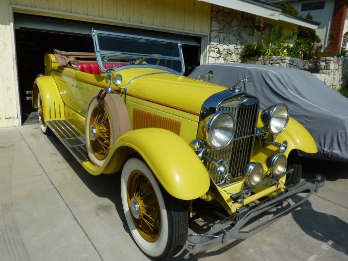 1929 Lincoln Roadster Model L