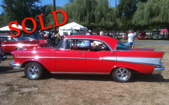 1957 Chevrolet 4 Door Hardtop <font color=red>*SOLD*</font color>