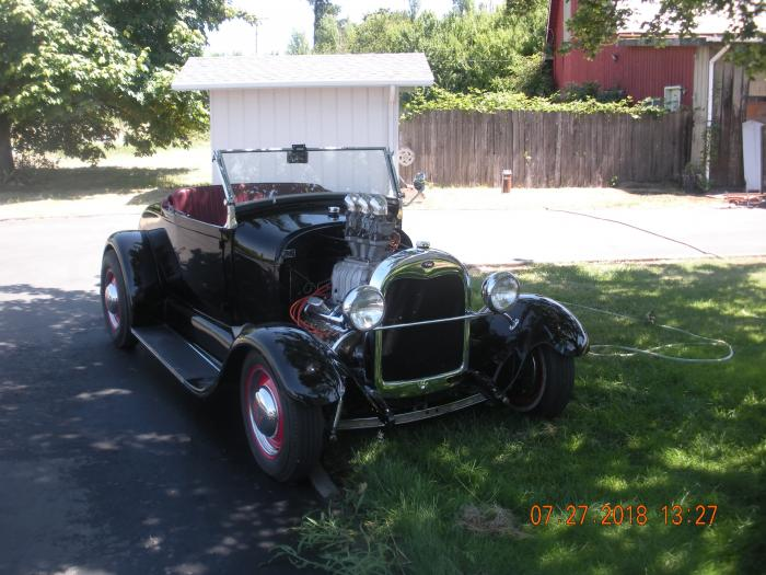 1929 Ford Roadster Hot Rod All Steel