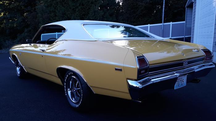 1969 Chevrolet Chevelle Super Sport Restored Matching #'s