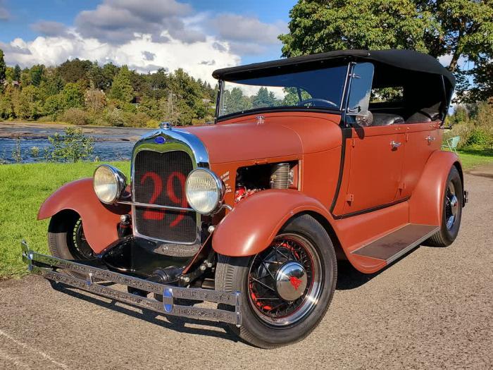 1929 Ford Phaeton 4 Door All Steel