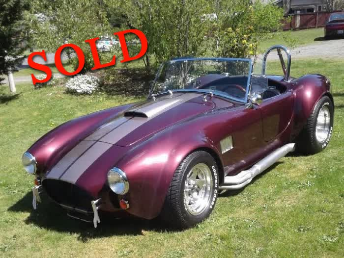 1965 Cobra Roadster Replica <font color=red>*SOLD*</font color>