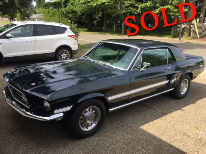 1968 Ford Mustang GT/CS California Special <font color=red>*SOLD*</font color>