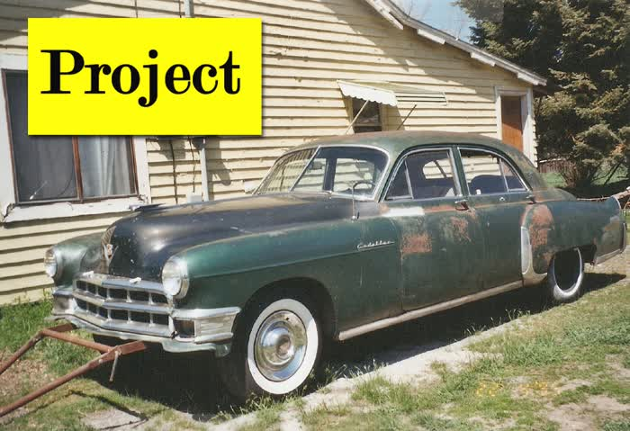 1949 Cadillac Fleetwood Sedan