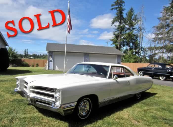 1966 Pontiac Bonneville 2 Door HT Coupe - 64K Original Miles <font color=red>*SOLD*</font color>