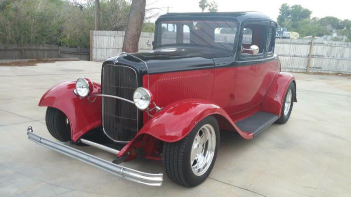 1932 Ford 5 Window All Steel Coupe
