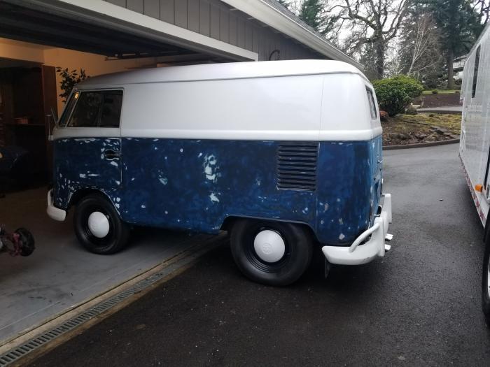 1963 Volkswagen Panel Bus
