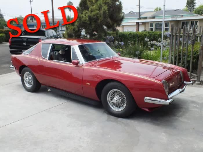 1963 Studebaker Avanti <font color=red>*SOLD*</font color>