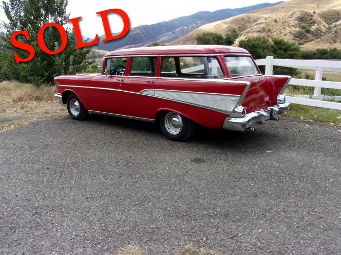 1957 Chevrolet Bel Air Wagon <font color=red>*SOLD*</font color>