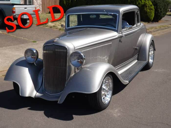 1933 Plymouth Coupe Street Rod <font color=red>*SOLD*</font color>