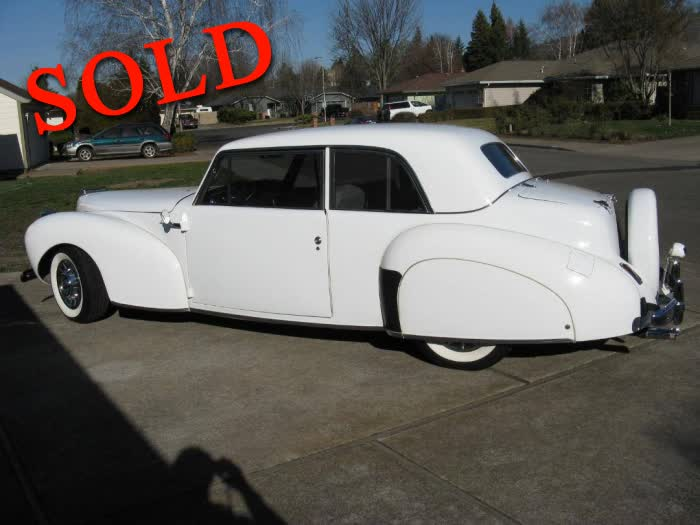1941 Lincoln Continental Sedan <font color=red>*SOLD*</font color>