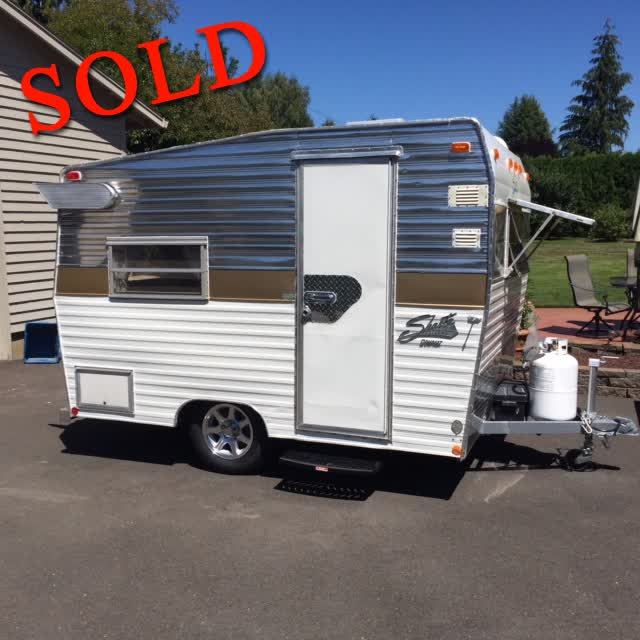 1972 Shasta Compact 13' Travel Trailer <font color=red>*SOLD*</font color>