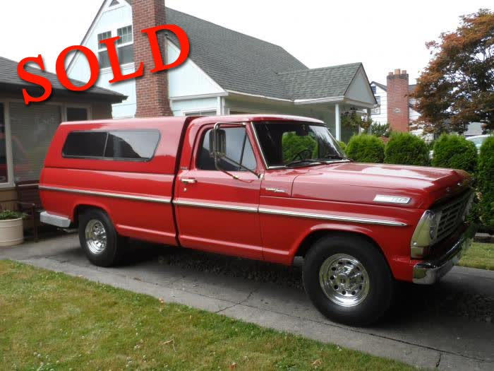 1967 Ford F250 Pickup Truck <font color=red>*SOLD*</font color>