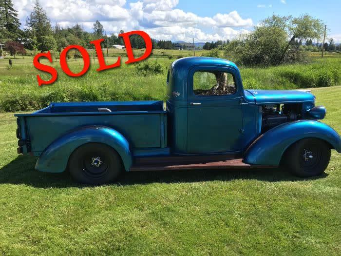 1937 Chevrolet Truck <font color=red>*SOLD*</font color>