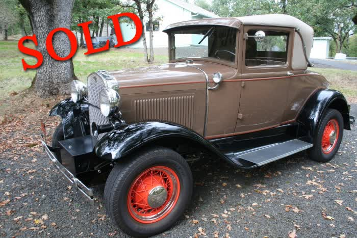 1930 Ford Model A Sport Coupe <font color=red>*SOLD*</font color>