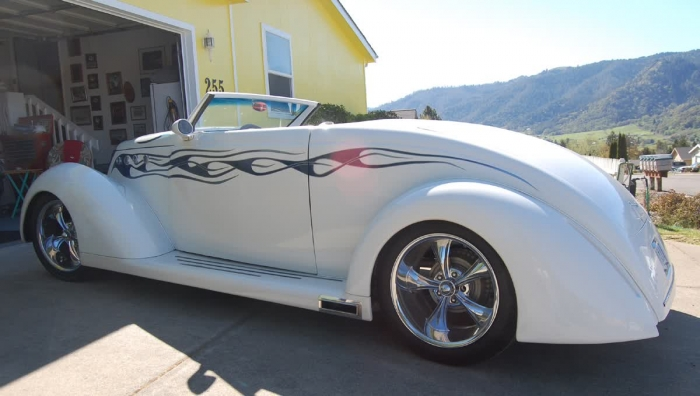 1937 Ford Coupe Convertible