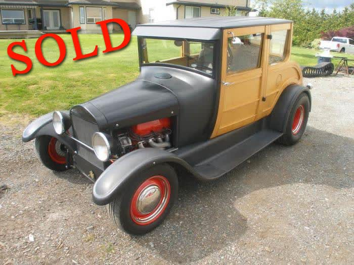 1926 Ford Model T Woodie <font color=red>*SOLD*</font color>