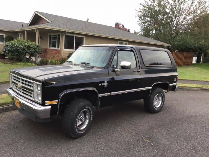 1987 Chevrolet Blazer K5