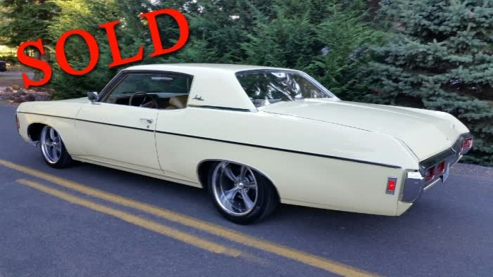 1969 Chevrolet Impala Custom <font color=red>*SOLD*</font color>