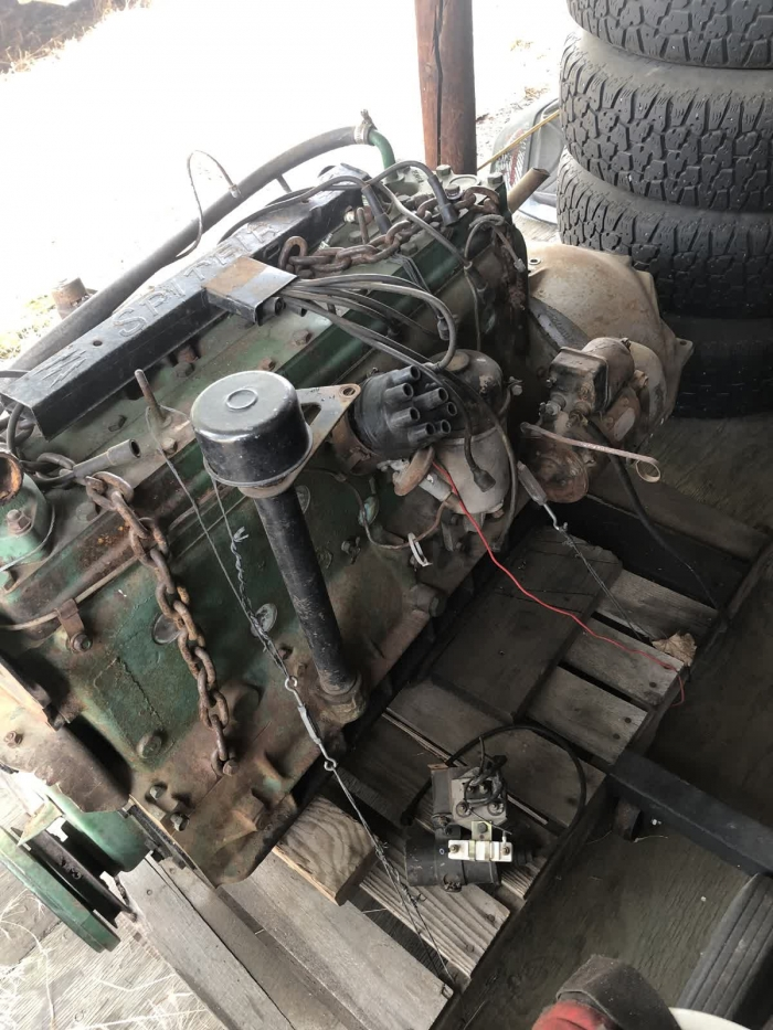 1948 Chrysler Spitfire Engine and Transmission