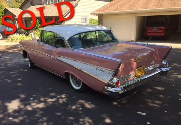 1957 Chevrolet Bel Air 2-Door Hard-Top <font color=red>*SOLD*</font color>