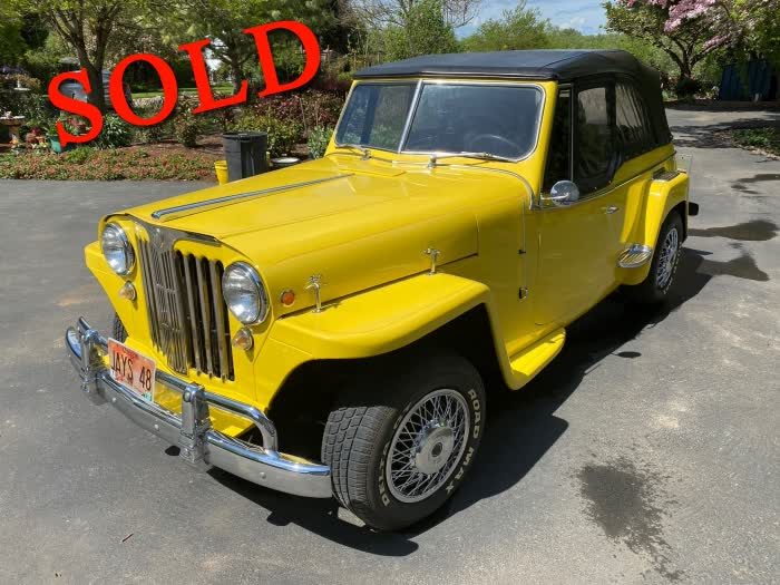1948 Willys Jeepster <font color=red>*SOLD*</font color>