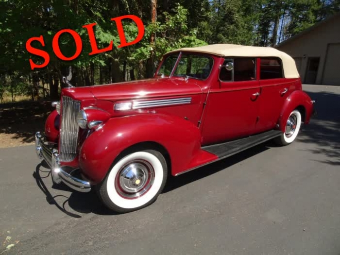 1938 Packard Eight 4 Door Convertible Sedan <font color=red>*SOLD*</font color>